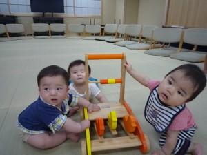 P10503903人の赤ちゃん