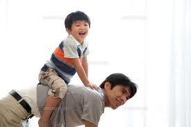 父と遊び1